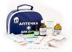Аптечка для дачника