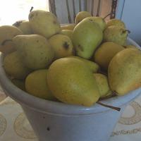 Осенний пирог - перевертыш ( груша, слива)