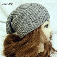 Осенняя шапка-бини