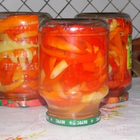 Салат из болгарского перца. (Без уксуса!)