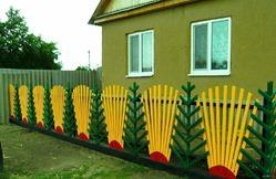 Забор для дачи и для души