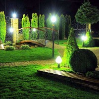 Разновидности садового освещения