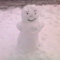 Моя снегурочка Юлечка.