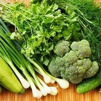 Два летних рецепта из овощей и садовой зелени