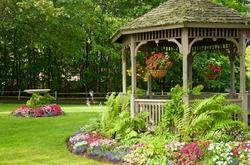 Выбор места для садовой беседки