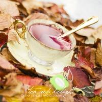 Вкусные булочки Осенние листья