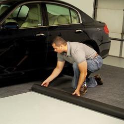 Какое напольное покрытие подойдет для гаража?