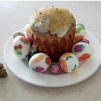 Пасхальные яйца в технике декупаж.