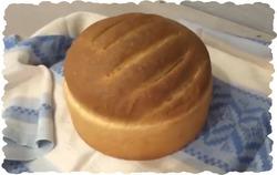 Видео рецепт домашнего хлеба на молоке