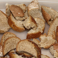 Приготовление удобрений из хлебных отходов