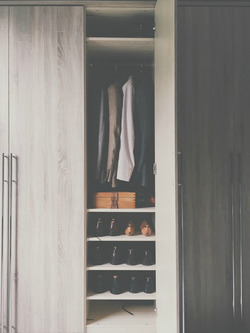 Принципы формирования гардеробных комнат