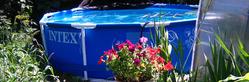 Обслуживание каркасного бассейна (замена воды, мытье и проч.)