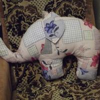 Слоник. Подушка для души и тела.