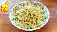 Вкусный и полезный витаминный салат. Видео рецепт