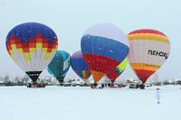 Фестиваль воздухоплавания Яблоки на снегу - 2021