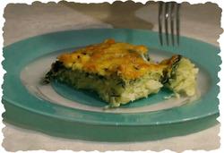 Запеканка из капусты с зеленью и сыром. Короткий фото-аудио рецепт