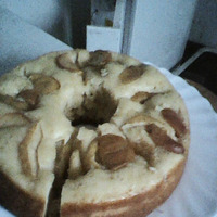 Пышный пирог. Рецепт из интернета.