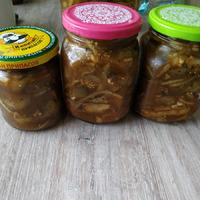 Баклажаны (кабачки) со вкусом шашлыка