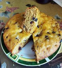 Постный пирог-бисквит