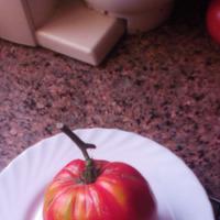 Сравнительный анализ качества крупных помидор (левая грядка)