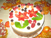 Загадочный торт «Три шоколада»
