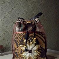 Сшила сумку в стиле бохо.