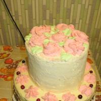 Оригинальный подарок на день рождения – двухъярусный торт