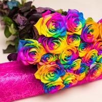 Как можно покрасить цветы?